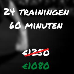 Tough Love Personal Training 24 trainingen 60 minuten